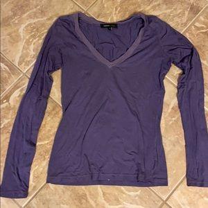 Cute long sleeve purple Rebecca Beeson shirt SZ 2